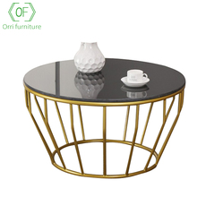 Orri Meubels Mirrored gold marmeren salontafel