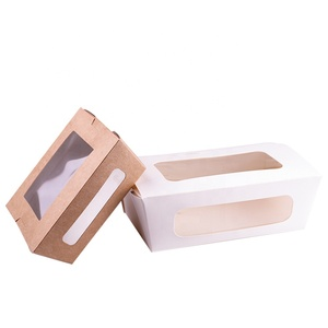 Chinese Supplier Take Out Food Paper Box For Salad PE lining