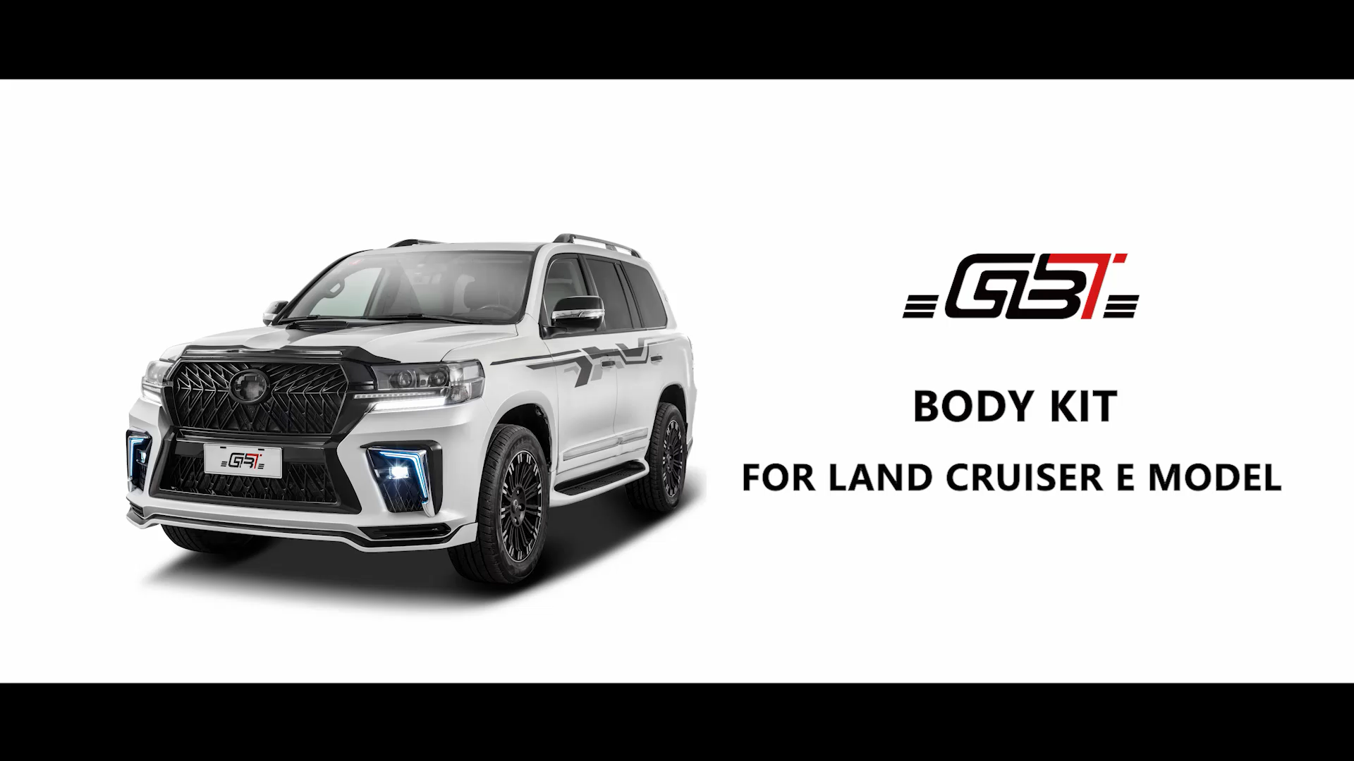 GBT body kit include front&rear car bumpers grille and hood fender year 2008-2015 For Toyota Land Cruiser 200 LC200 E Model