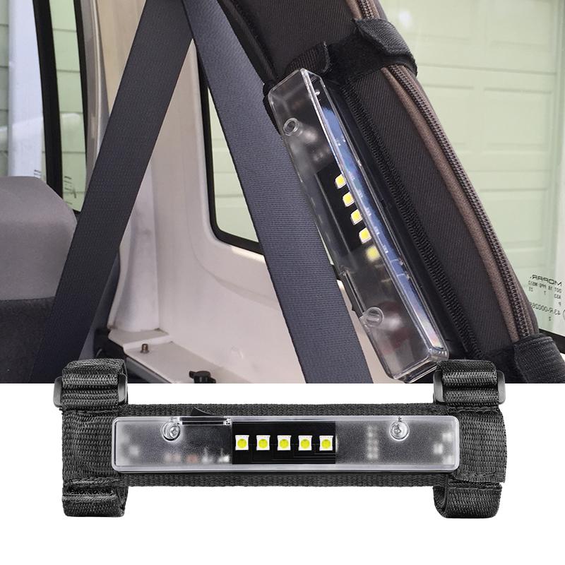 Hot Sale Universal Roll Bar Mount Up To 4 Inch Megnet Adsorbing Utility Light Mounts Battery Led Strip Light