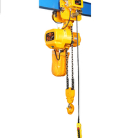 China 250kg electric chain hoist with motorized trolley for sale