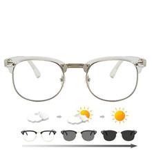 -1,0-1,5-2,0 до + 1,0 + 1,5 + 2,0 + 3,0 + 4,0 радиационная защита заклёпки очки женские полуоправы очки мужские Оптические очки(Китай)