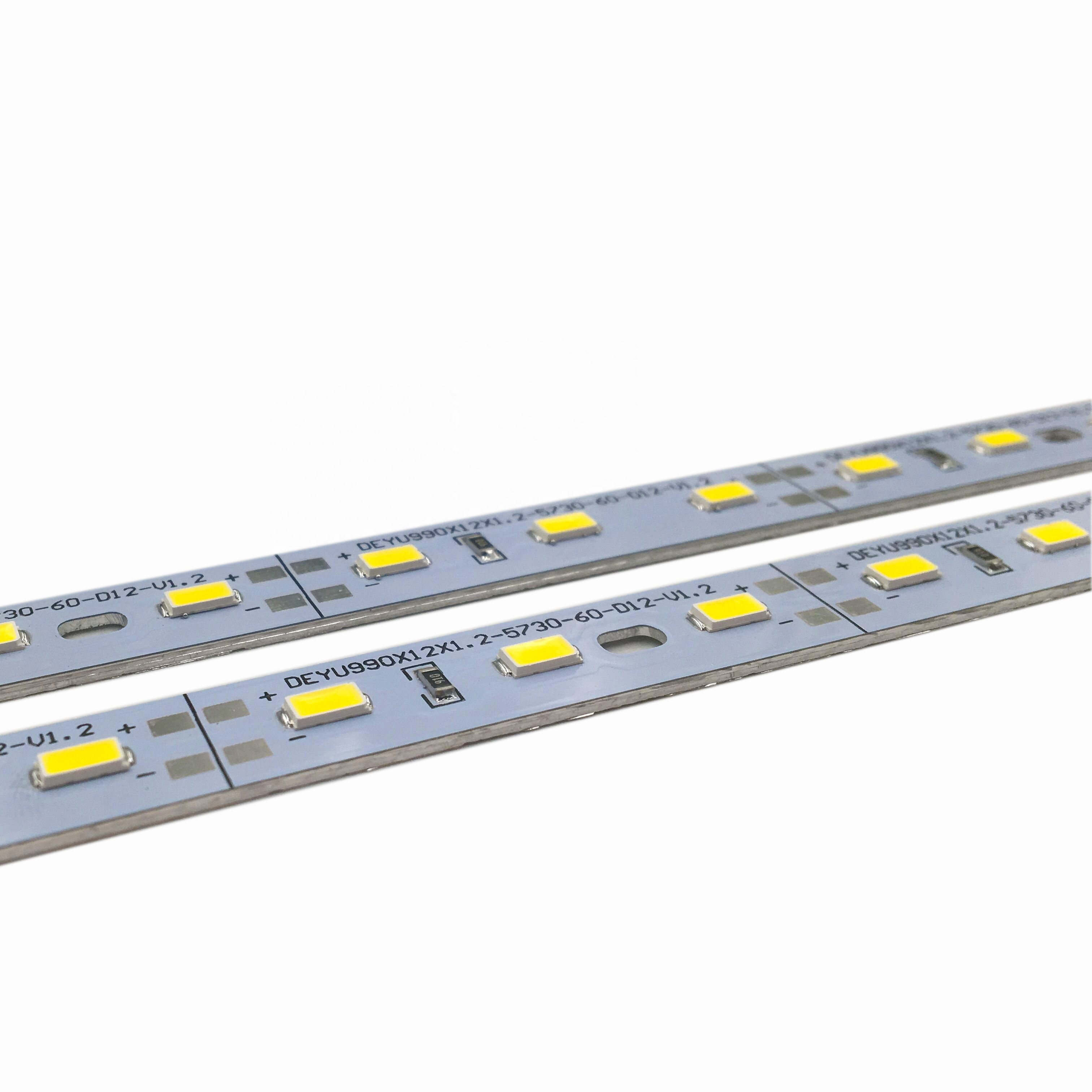 China led manufacturer wholesale smd 5730 high brightness led fixture strip lights