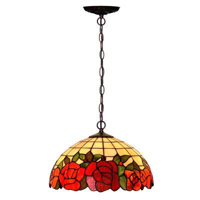 Vintage Tiffany vitray lamba Led Tiffany tavan lambası kapalı ışıklar dekor yatak odası Tiffany Lampe