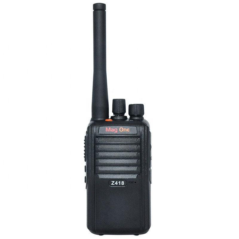 D'origine Motorola Mag un Z418 uhf talkie-walkie radio bidirectionnel avec batterie amovible