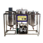 complete oil refinery machines cooking avocado oil refining edible rapeseed oil refinery equipment