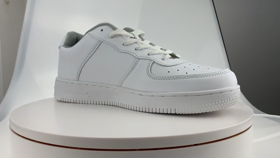 Su misura scarpe da ginnastica scarpe da skateboard in pelle logo design scarpe da skateboard scarpe da skateboard semplice tendenza traspirante