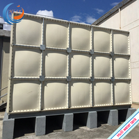2019 New GRP FRP SMC sectional water storage tank for drinking water