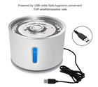 2.4L Stainless Steel Water LED Automatic Pet Drinking Bowl