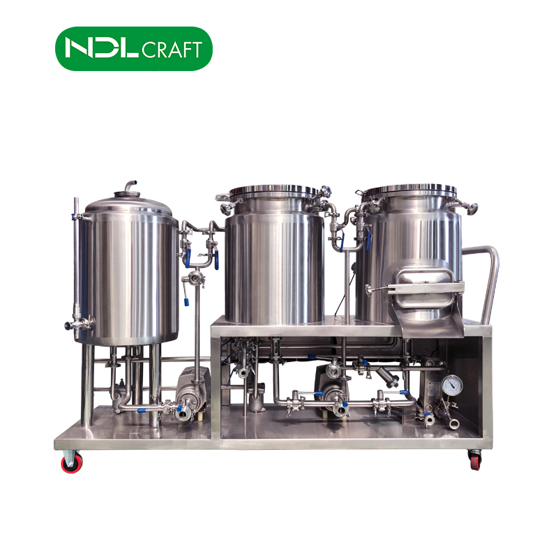 50L 60L 100L 200L Brewing Equipment Mini Brewery Plant System Home Beer Making Machine