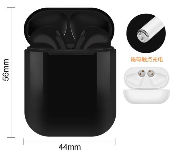 New Handsfree Headphone Mini Tws i10 Earphone Latest Bt 5.0 True Wireless Earbuds 3 Hours Long Working Play Time