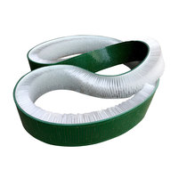 Custom Flexible Staple Set Conveyor Belt Strip Brush for Textile Industry Polishing and Cleaning