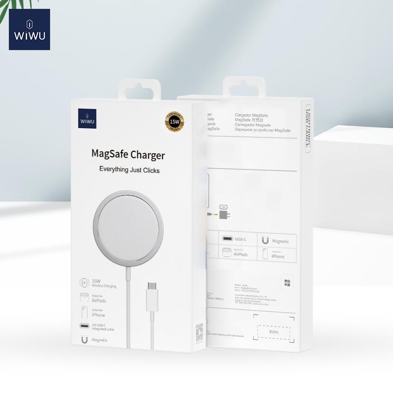 WiWU iPhone12磁吸附 无线充 (https://www.wiwu.net.cn/) 无线充电器 第1张
