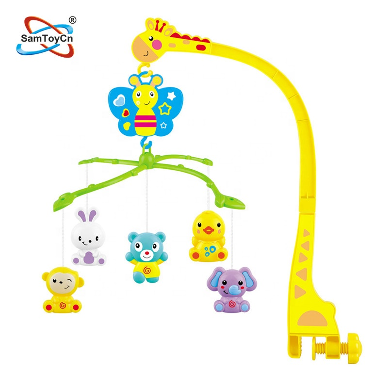 Giraffe Music Bedside Bell Crib Baby Mobiles(SM390842)