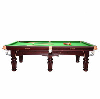 Top Quality Popular design 3 cushion Snooker billiard table for sale
