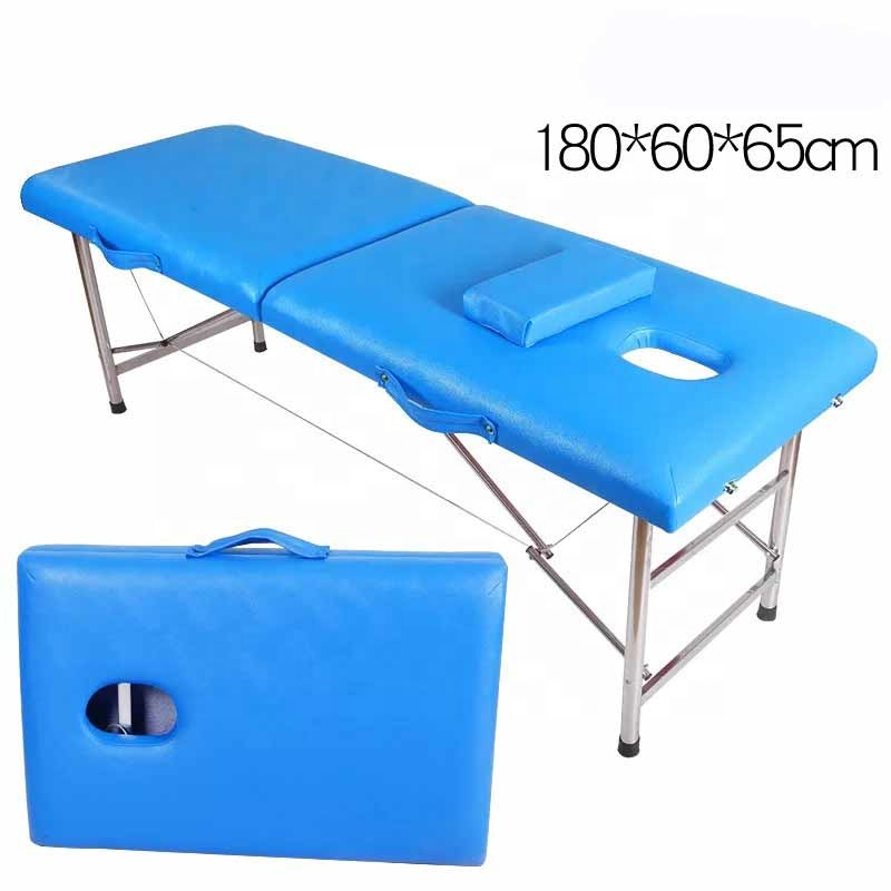 Hot sale Portable collapsible tattoo beauty massage bed high quality spa moxibustion bed massage table