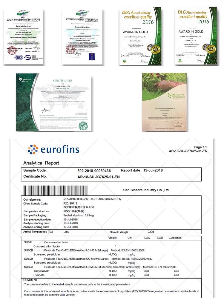 SINCERE Supply Factory price Organic USDA Certificate Pure Matcha Powder - 4uTea | 4uTea.com