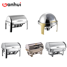 Fabrik direkte Professionelle billige werbe <span class=keywords><strong>Deluxe</strong></span> Roll Top Chafing Dish