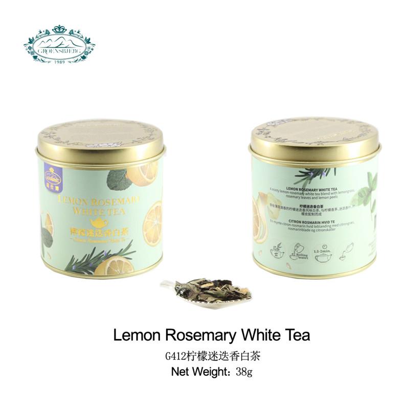 tea exporters White tea lemongrass rosemary leaves lemon peel fragrance lemon rosemary organic natural flower tea leaves - 4uTea | 4uTea.com