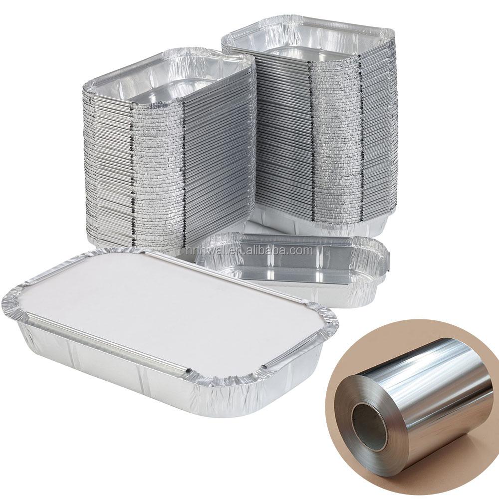 8011 алюминиевый сплав Бытовая Алюминиевая фольга пищевая упаковка