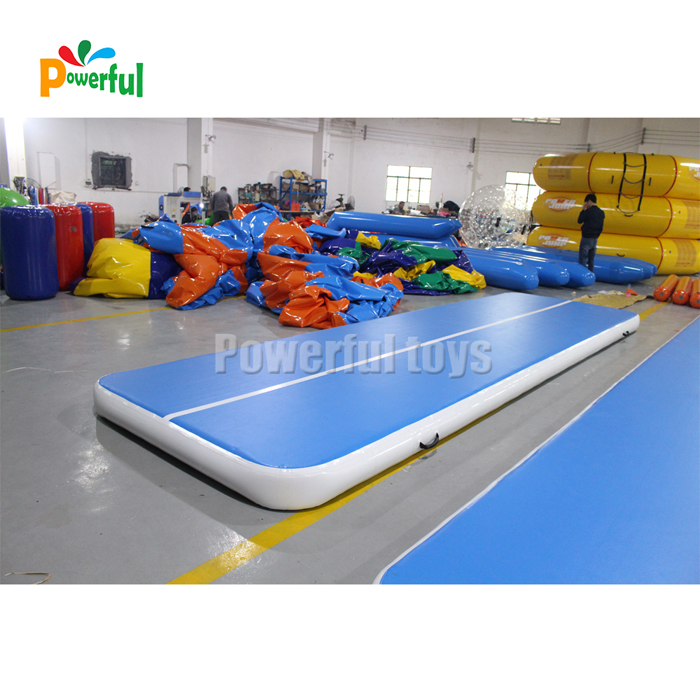 inflatable gymnastics tumble track trampoline airtrack for kids