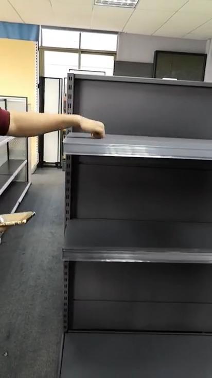 heavy duty supermarket shelf supermarket gondola racking