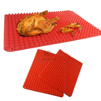 Pyramid Pan- Best Healthy Chef Cooking Sheet baking mat silicone, silicone pyramid baking mats