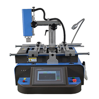 LY HR560 bga rework station with independent soldering station 2 in 1 and touch screen for laptop motherboard reballing