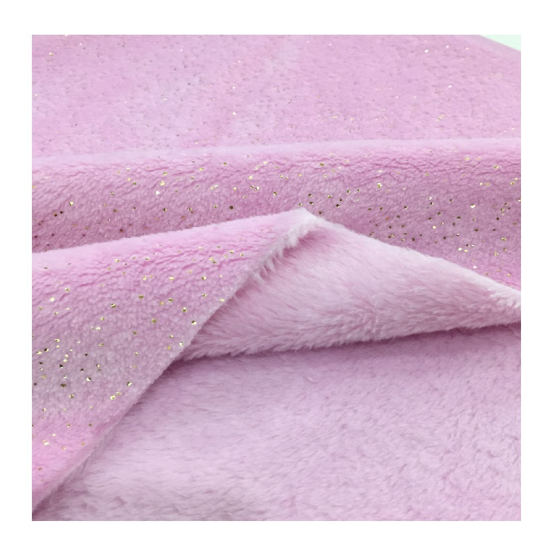 fashion style two face flannel fleece fabric for making blanket