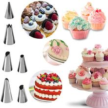 Amazon Vendita Calda Cupcake Decorating Icing Punte In Acciaio Inox Cake Decorating Tips