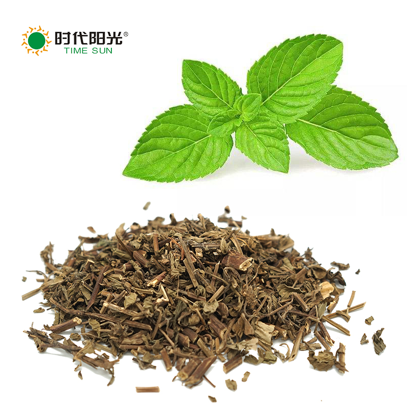 Waktu Sun Golden Grade Grosir Rempah-rempah Kering Herbal Peppermint Kering Mint Daun Potong Herbal