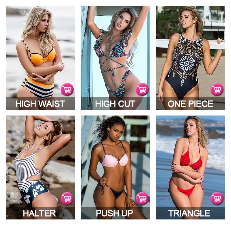 Private Label Halter Top Seksi Ekstrim Micro Bikini String