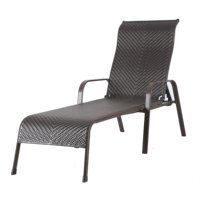 Outdoor leisure Foldable Beach ChairFoldable Garden Furniture Recliner Sun Lounger