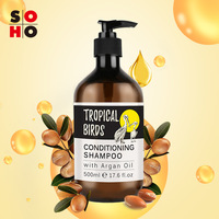 Wholesale Private Label Natural Organic Argan Oil Shampoo and Conditioner Luxury Hair Care Conditioning Shampoo