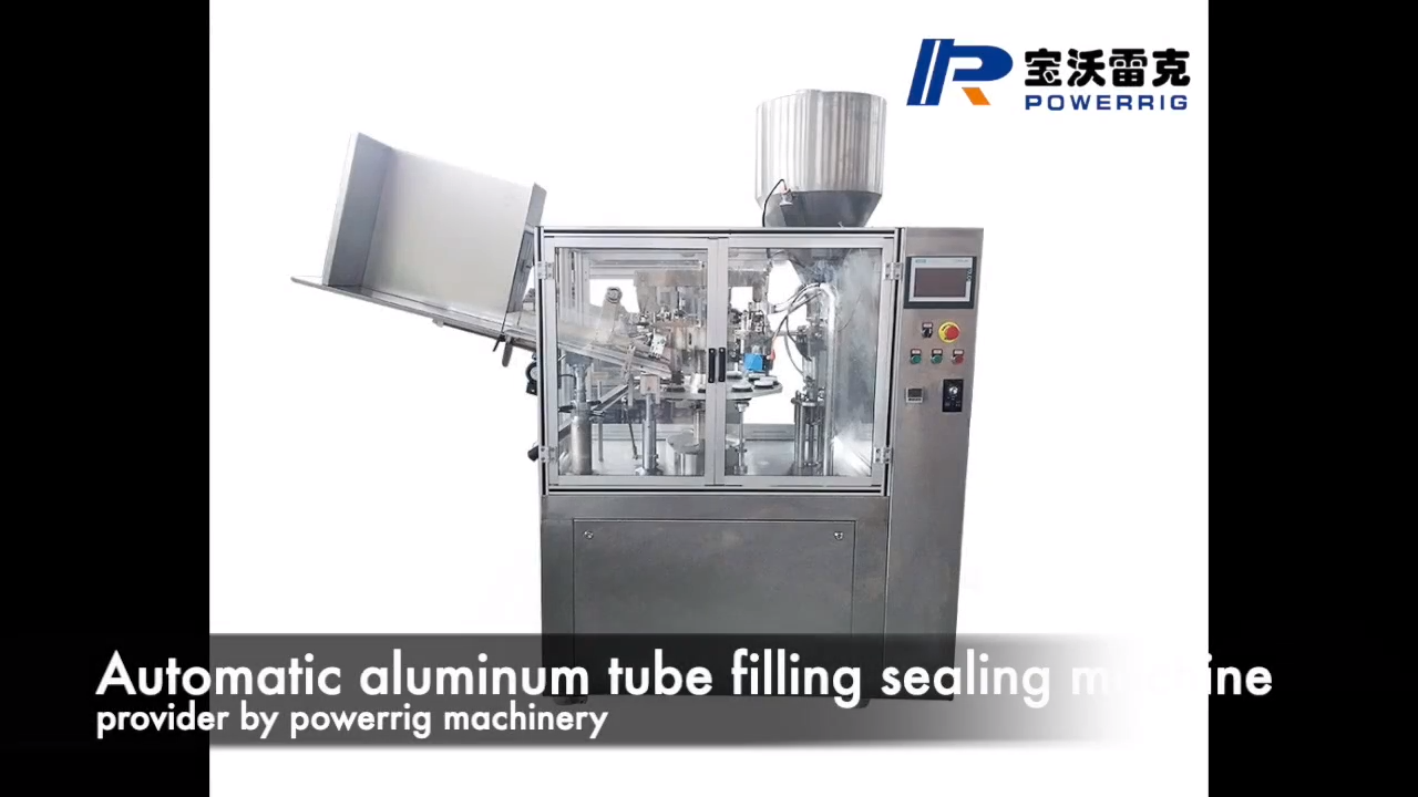 Automatic Aluminum Collapsible Tube Filler and Sealer Machinery Aluminum Tube Filling Sealing Machine For Cosmetic Cream