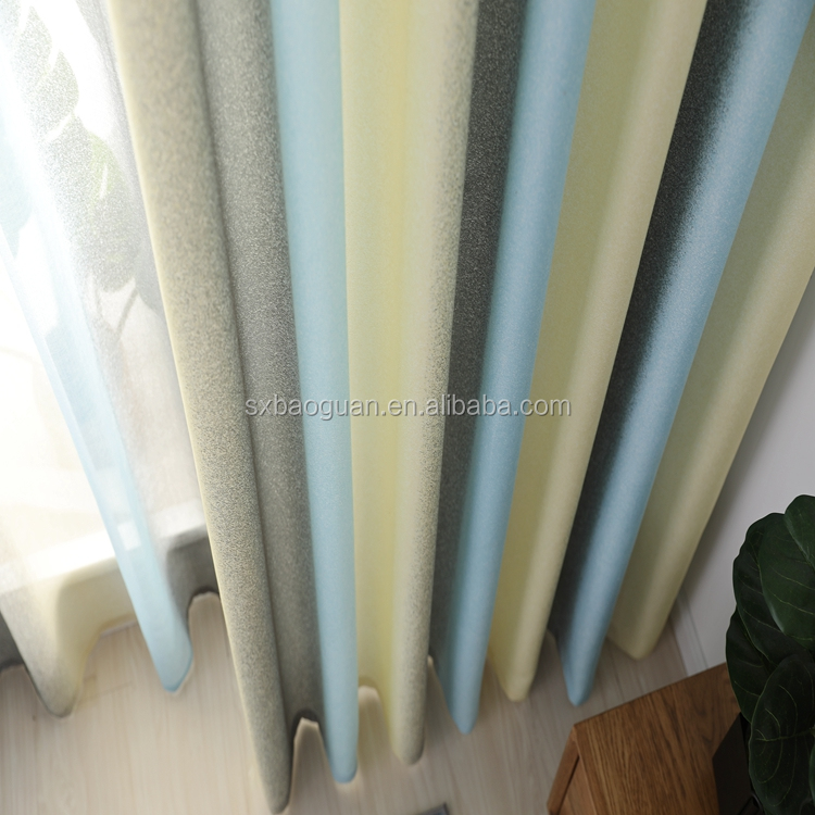 blackout curtains multicolour curtain polyester eyelet curtain gradual change curtain