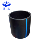 Plastic cylinder HDPE irrigation drain pipe