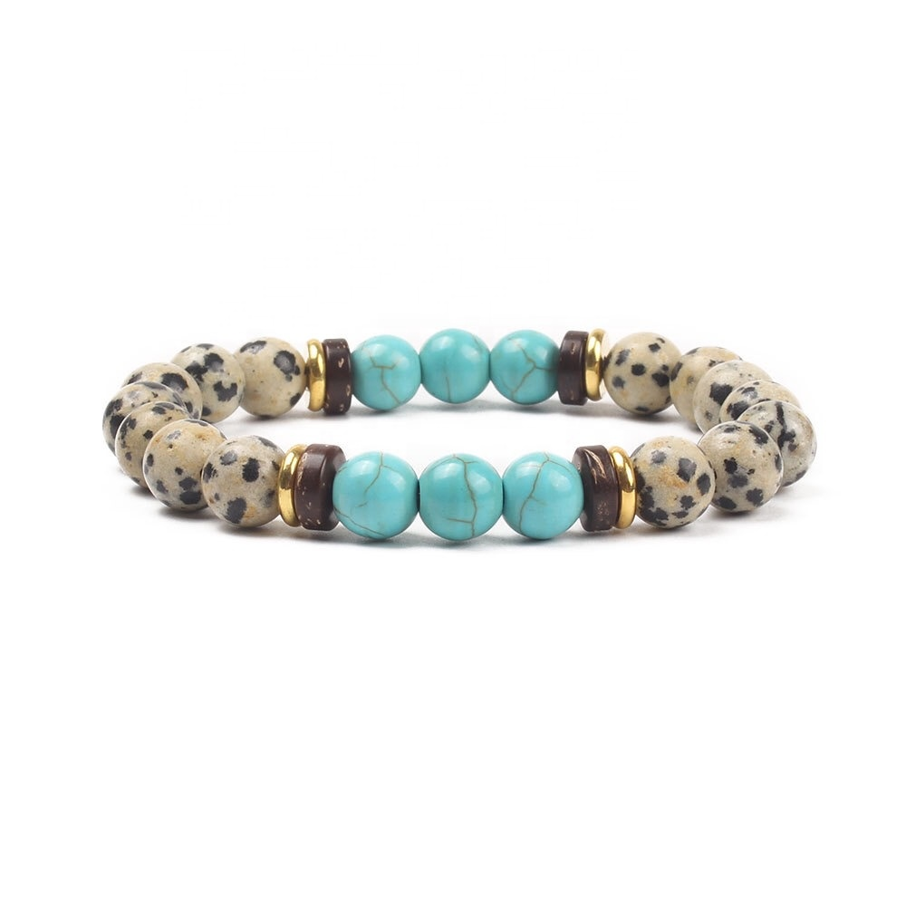 Natural beaded <strong>bracelet</strong> 8mm lava stone green <strong>tiger</strong> <strong>eye</strong> white turquoise semi-gem <strong>red</strong> turquoise agate lapis lazuli stone <strong>bracelet</strong>