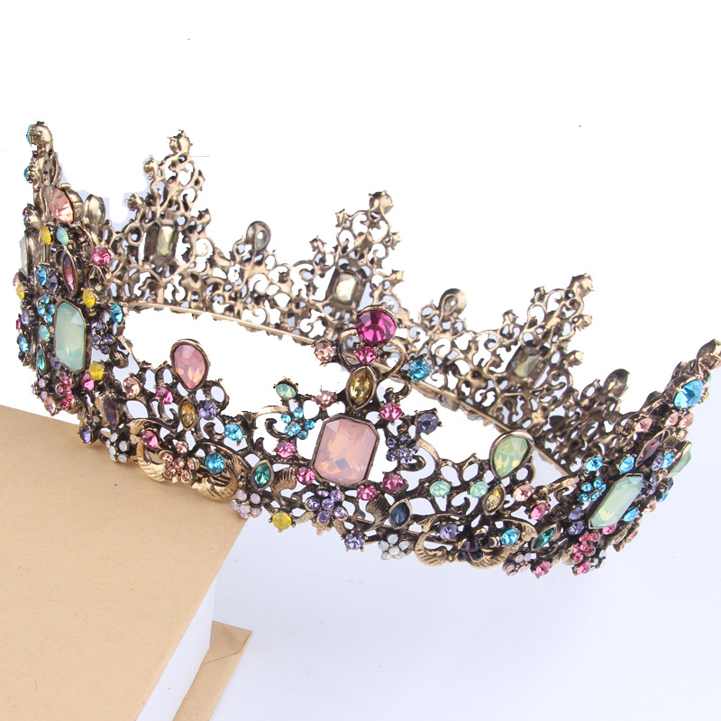 shining crystal gold alloy wedding tiaras princess hair <strong>crown</strong> accessory Beauty Queen <strong>Crowns</strong> Pageant Wedding Bridal Tiara <strong>Crown</strong>