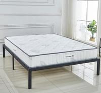 "FULL Size 10"" High density Foam Euro Pillow Top Pocket Spring Mattress"