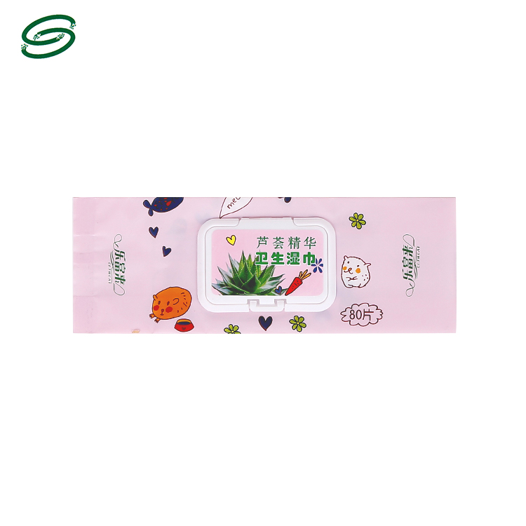 Eye makeup remover wipes flexible wipes packaging bag