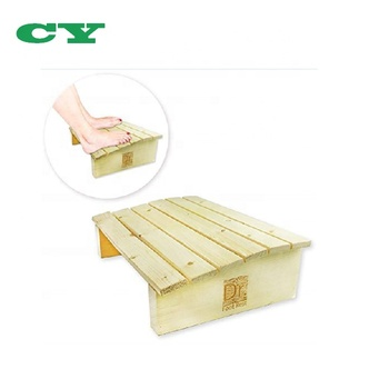 Under Desk Foot Rest Wood Foot Stool For Office Home to Relieve Tendon Pains And Improve Blood Circulation