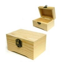 Simple and generous wooden handmade gift box exquisite wooden box