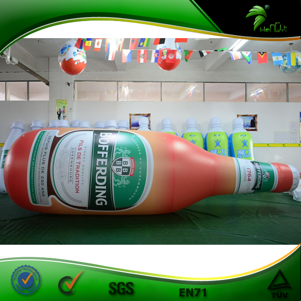 Advertising Bottle Balloon Inflatable, Giant Inflatable Beer Champagne Bottle