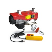 220v single phase portable PA type mini electric hoist motor lift