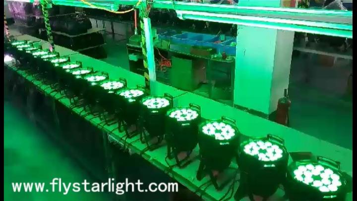 Éclairage Led d'intérieur couleur RGBW 18 pièces, livraison gratuite en chine, éclairage avec canette