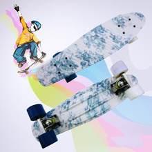 Высокое качество скейтборд мини доска для спорта на открытом воздухе Полный Скейтборд в виде «Рыбки» для начинающих Kick Skate доска для мальчи...(Китай)