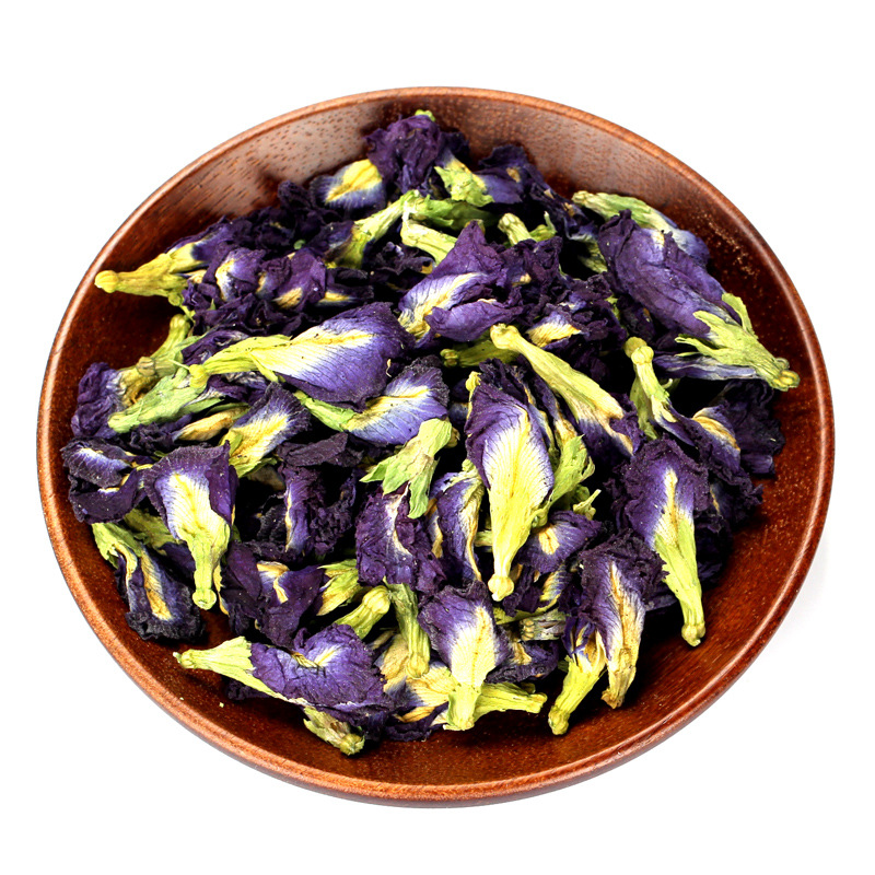 Butterfly Pea Kangyang Brand Quality Blue Tea Organic Standard Natural Dried Butterfly Pea Flowers Tea - 4uTea | 4uTea.com