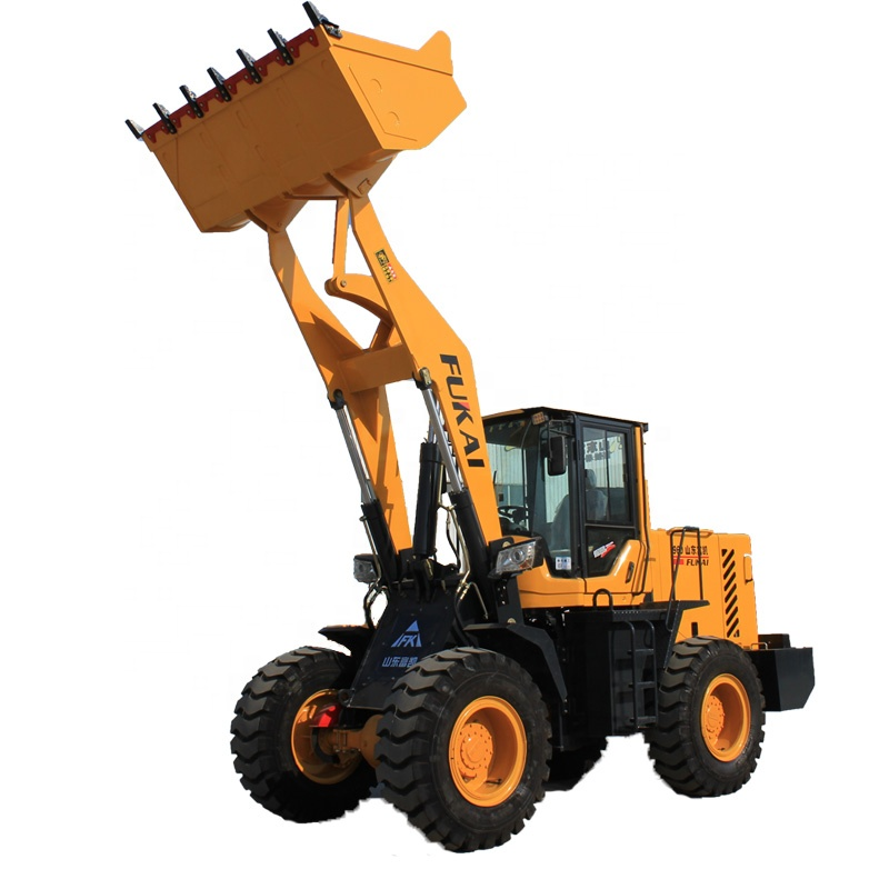 3Ton ZL960 Mini Wheel Loader with Fork small front loader for sale
