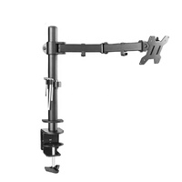 VESA 100*100 single laptop arm computer monitor desk mount